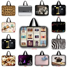 Fashion Top quality neoprene Computer Bag Notebook PC Cover tablet Sleeve Case 10 12 13 13.3 15.6 14 15 17 Laptop Bags Pouch