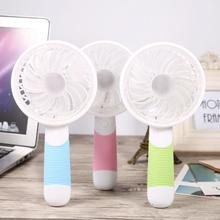 Handheld Electric Fans Mini USB Portable Fan Outdoor Indoor Sports with Rechargeable Battery For Home Office Dormitory