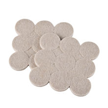 High Quality 2pcs-18Pcs Self Adhesive Floor Furniture Wall Chair Scratch Protector Felt Round Pads