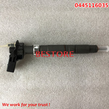 Genuine Common rail injector  Fuel Injector 0445116035 0445116034 0 445 116 035 0 445 116 034 for VVVW 03L130277C 03L 130 277C