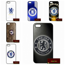 Champions Collection CHELSEA Capa Cover case for iphone 4 4s 5 5s 5c 6 6s plus samsung galaxy S3 S4 mini S5 S6 Note 2 3 4 D1130(China)