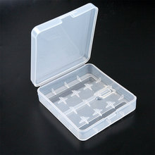 Hot Selling 1pcs 4 x 18650 holder Hard Plastic Case Holder Battery Storage Box For 1-4pcs 18650 Battery Case container holder