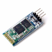 Free shipping new 1PCS HC-06 Wireless Serial 4 Pin Bluetooth RF Transceiver Module RS232 TTL for Arduino