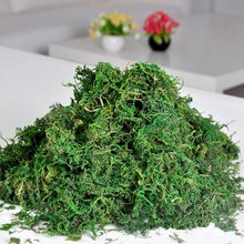 PHFU Artificial Reindeer Moss For Lining Plant Flower Garland Decor