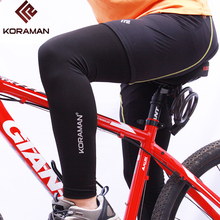 KORAMAN new Summer leg warmers cycling Fitness Leggings knee Protector Outdoor Sports Cycling mounting UV Protection 3102(China)