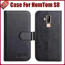 Buy Hot Sale! HomTom S8 Case New Arrival 6 Colors High Flip Leather Protective Phone Cover HomTom S8 Case for $4.59 in AliExpress store