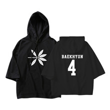 ALIPOP KPOP Korean Fashion EXO 4th Album THE WAR Logo Cotton Thin Hoodies Pullovers Hoode Sweatshirts PT585