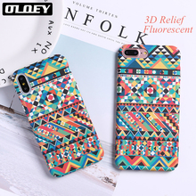 Buy OLOEY Fashion Geometric Graphic Pattern Case iphone 7 Case iphone8 8 PLus Phone Cases Colorful Abstract Back Cover for $2.03 in AliExpress store