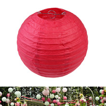 Chinese Paper Lanterns Multicolor Round Lantern Wedding Party Decoration Colorful Paper Laterns Lamp Party Festival Decor