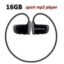 RUNPLAY W262 16GB Mp3 Player Music Sport Mp3 Player Headphone Earphone Player High Sound Quality Free Shipping