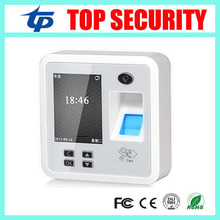 Free biometric fingerprint access control system TCP/IP fingerprint and RFID card time attendance and access control reader(China)