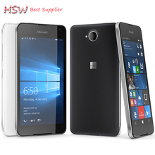"original Original Microsoft Lumia 650 8MP Camera NFC Quad-core 16GB ROM 1GB RAM mobile phone LTE FDD 4G 5.0"" 1280x720 pixels(China)"