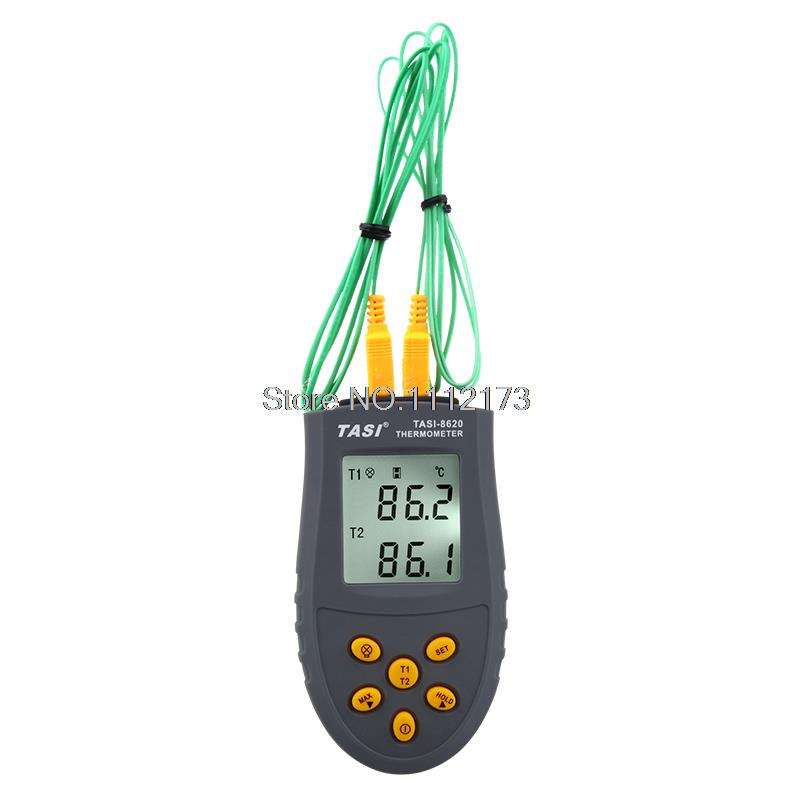 TASI-8620 K-type Probe Thermocouple Thermometer Digital Thermometer Temperature Measurement meter -50~1350C<br><br>Aliexpress