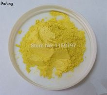 Lemon yellow color Natural Mineral Mica Powder DIY For Soap Dye Soap Colorant makeup Eyeshadow Soap Powder