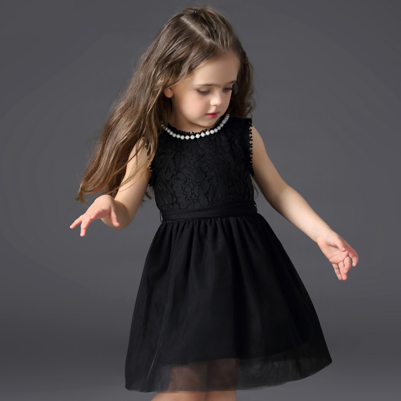 New Fashion Baby Girl Lace Tutu Dress Summer Sundress Kids Girl Birthday Wedding Party Dress Sleeveless 2 3 4 5 6 Years Children<br>