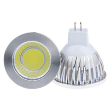 Led MR16 GU10 12V 220V 9w 12w 15w Dimmable Led Cob Spotlight Warm Whit /Cool White MR 16 Bulb Lamp GU 10 220V Power Lampada
