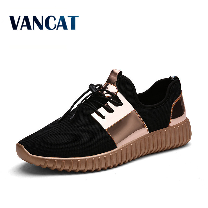 2017 New Summer Breathable Shoes Men Flat shoes Autumn Fashion Men Shoes Couple Casual Shoes Plus size 35-46(China (Mainland))