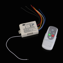 Wireless 3 Ways On/Off Digital Remote Control Switch for LED Light 110V