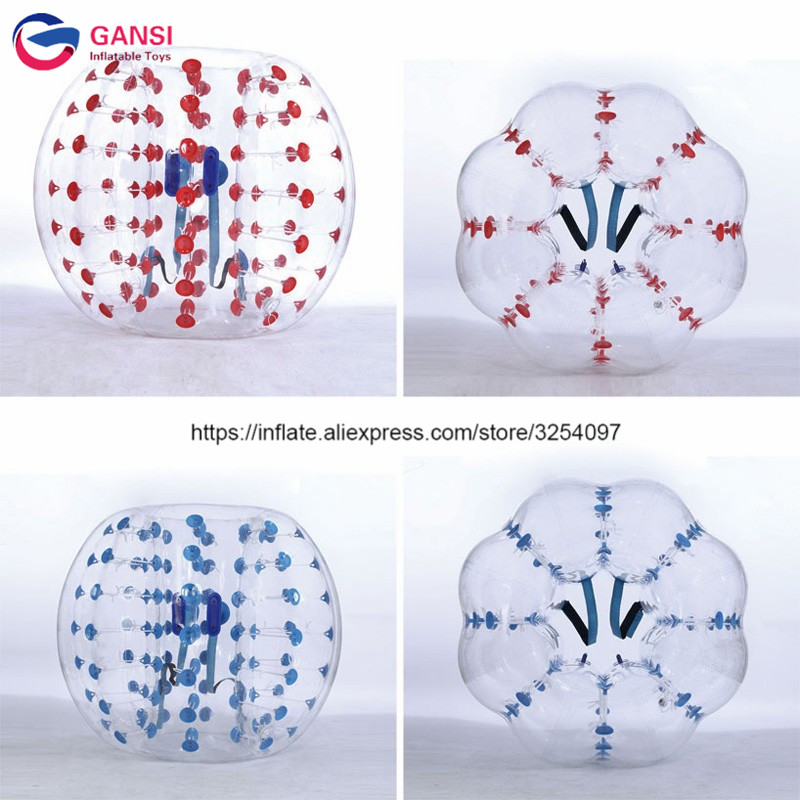 1Bumper Ball with Red Dot and Blue Dot