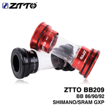 Buy ZTTO BB209 BB92 BB90 BB86 Press Fit Bicycle Bottom Brackets Road Mountain bike Shimano Prowheel 24mm Crankset SRAM GXP 22mm for $16.20 in AliExpress store