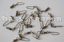 60 X 4# Ball Bearing Swivels w/Coastal Snap Trolling Rigging 80Lbs Test GT098