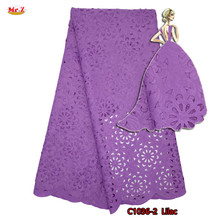 Mr.Z Latest Laser Cutting Nigerian Lace Embroidered Fabric Jacquard Lace Fabric For Dress 2017 Guipure Swiss Dry Lace Material(China)