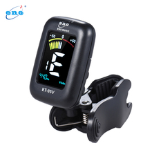 eno ET-05V Professional Clip-on Tuner Automatic Tuning Mode with LCD Display for Violin Viola Cello Double Bass Chromatic(China)