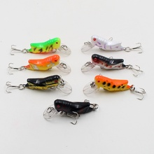 1Pcs 5cm 3.5g Grasshopper insects Fishing Lures Sea fishing Tackle Flying Jig Wobbler Lure hard lure bait Artificial bait Tool