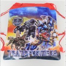 1pcs Transformers Captain Kids schoolbag backpack kids birthday party Favor, Mochila escolar, school kids backpack