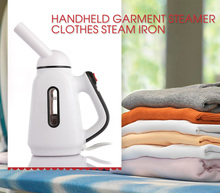 Portable 120ml Clothes Steamer Handheld Fabric Garment Vertical Steamer Electric Clothes Steam Irons 110/220V for Home & Travel