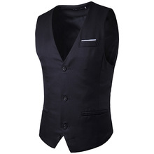 Men Vest New Single Breasted Sleeveless Coat Button Waistcoat For Man Warm Tactical Male Vests With Many Pockets Bodywarmer Coat(China)
