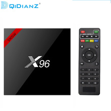 NEW!!!DQiDianZ X96 Android 7.1 Smart TV BOX S905W Quad Core support 2.4G Wireless WIFI Set top box(China)