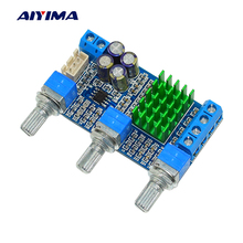 Buy Aiyima TPA3116 Audio Amplifier Board 50W*2 Dual Channel High Power Digital Amplifiers Tone Control DC24V for $8.11 in AliExpress store