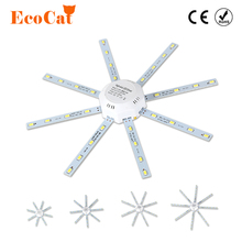 ECO CAT LED Lamps Replace for Ceiling Light 220V 12W 16W 20W 24W SMD 5736 Replacement Bulbs for Home Lighting