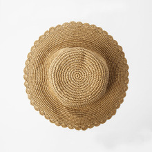 HAPPYTAIL 2017 Summer Hats for Women Wide Brim Foldable Floppy Beach Straw Sun Hat for Vocation Ladies Girls Hat