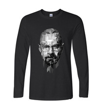 2017 Fashion New Gift Tee Breaking Bad funny long sleeve t shirt men(China)