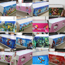 1pcs\lot  Kids Favors Pokemon Tablecover Little Pony Tablecloth Baby Shower Birthday Party  Decoration Supplies cartoon