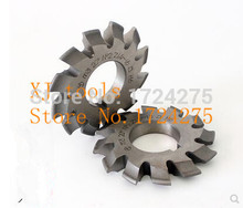 M6 modulus 5 # Pressure Angle of 20 degrees HSS gear Milling cutter 26 t - 34 t gear processing and free shipping(China)
