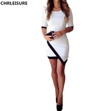 CHRLEISURE XS-XL Women Dress Sexy Candy Color Plus Velvet Bodycon Clubwear Cocktail Half Sleeve Wrap Dress 7 Colors