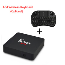 KM8 Pro Smart TV Box Android 6.0 TV Box Amlogic S912 Octa Core CPU MAX 2GB 16GB Dual 2.4G/5G WIFI 17.0 Set Top Box PK X92 X96(China)