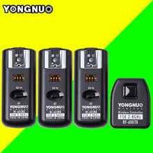 Yongnuo RF602 RF-602 2.4GHz Wireless Remote Flash Trigger 1 X Transmitter + 3 X Receivers for Canon 1100D/1000D/600D/550D(China)
