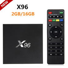 2017 X96 Android 6.0 TV Box 2GB RAM 16GB ROM Amlogic S905X Quad core 64Bit H.265 WIFI 4K 1080P/i HD Smart IPTV Media Player