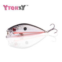 1pcs Minnow fishing Lure Jig Wobblers iscas artificiais para pesca 7cm 8.5g swimbait crankbait fishing tackle YE-9X