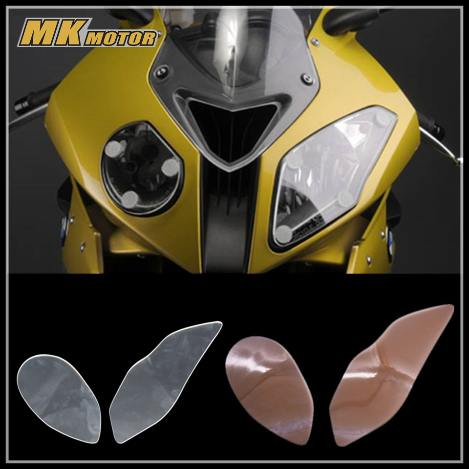 S1000 RR Motorbikes Accessoris ABS Headlight Protector Cover Screen Lens For BMW S1000RR 2015-2016<br>