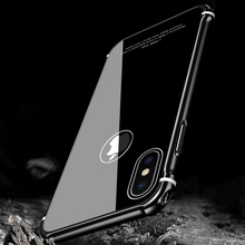 Buy Leanonus New Case iPhone X Case Luxury Aluminum Metal Bumper+Tempered Glass Back Armor Phone Case Cover iPhone X/10 for $17.99 in AliExpress store