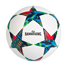 soccer ball size 5 PU leather football competition training professional football Seamless Paste for soccer Free ship C11