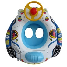 Baby Swimming Ring Inflated Swim Pool Float Baby Float Seat Infant Car Shape Swim Ring(China)