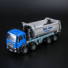 Free Shipping/Diecast Toy Model/1:50 Scale/Dumper Lorry Truck/Engineering Car/Educational Collection/Gift For Children/Small(China)