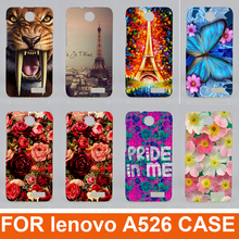 Buy New Hot Selling 14 patterns colored case Lenovo A526 Cover / fashion diy 3d Painting Case Cover Lenovo A526 Phone Cover for $1.33 in AliExpress store