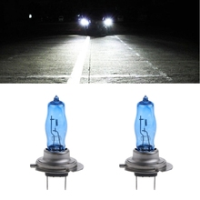 1 Pair H7 55W 12V HOD Xenon White 6000k Halogen Car Head Light